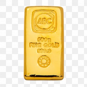 Gold Bar - Gold Bar ABC Bullion Gold As An Investment PNG