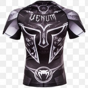 Black/... Venum Gladiator 3.0 Dry Tech Long Sleeve MMA RashguardGladiator Fights - T-shirt Rash Guard Venum Gladiator 3.0 Short Sleeve MMA Compression Rashguard PNG