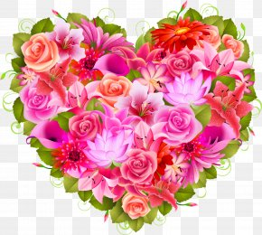 Petal - Heart Flower Valentine's Day Clip Art PNG