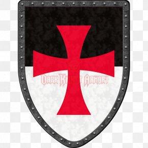 Shield - Crusades Temple Church Shield Knights Templar PNG