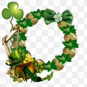 Saint Patrick's Day - Picture Frames Saint Patrick's Day Clip Art PNG