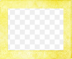 Yellow Frame - Square Area Yellow Pattern PNG
