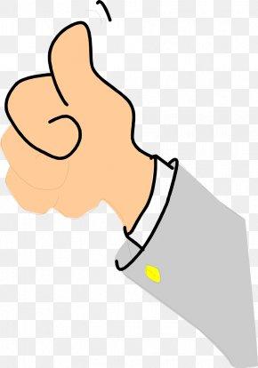 Thumbs Up Illustration - Thumb Signal Cartoon Clip Art PNG