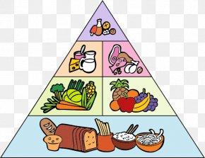 Health - Food Pyramid Drawing Clip Art PNG
