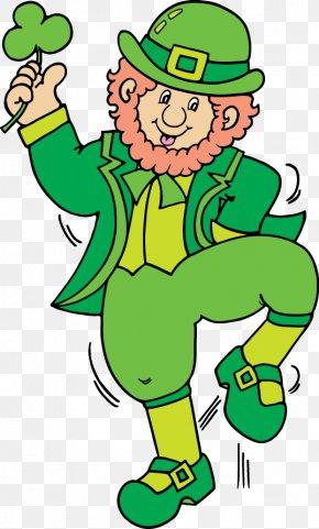 Leprechaun - Leprechaun Saint Patrick's Day Clip Art PNG