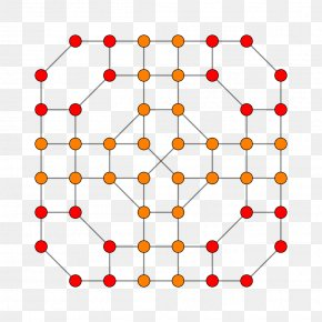 Line - Linear Algebra Projection 7-cube Pattern PNG