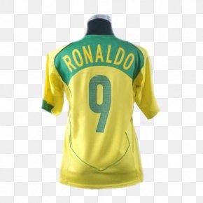 Brazil Team - T-shirt Brazil National Football Team 2006 FIFA World Cup Jersey PNG