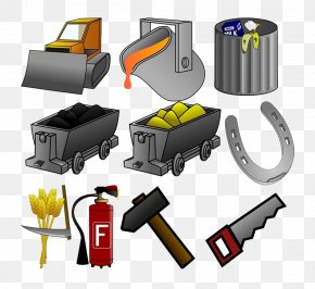 Coal Mining Tool Material - Euclidean Vector Tool Icon PNG