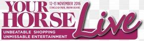 Pink Horses - Horse Show Equestrian Logo PNG