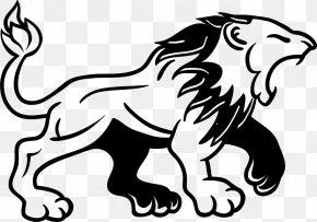 Lion - Lion Drawing Logo Roar PNG