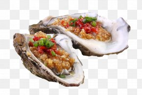 Gourmet Barbecue Oyster Picture Material - Barbecue Oyster Food Roasting PNG