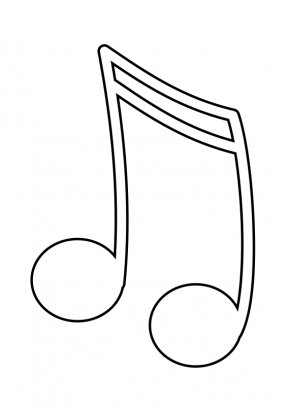 Pictures Of A Musical Note - Musical Note Clip Art PNG