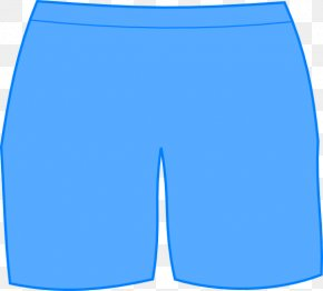 Shorts Transparent Images - Swim Briefs Shorts Blue Trunks PNG