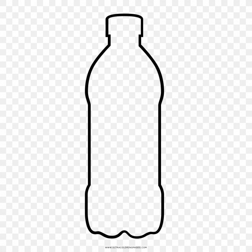 Water Bottles Glass Bottle Png 1000x1000px Water Bottles Area Black And White Bottle Drinkware Download Free