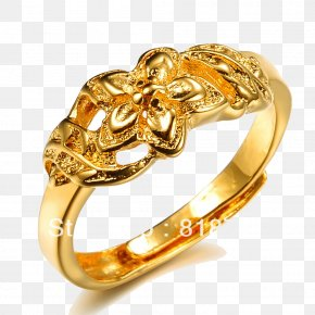 Gold Rings Photos - Engagement Ring Wedding Ring Gold Jewellery PNG