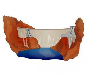 Dam Cliparts - Non-renewable Resource Renewable Energy PNG