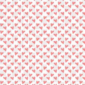 Pink Heart Seamless Background - Polka Dot Wallpaper PNG