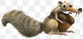 Ice Age Scrat Squirrel Transparent Clip Art Image - Scratte Squirrel Clip Art PNG