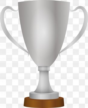 Trophy Material - Trophy Silver Cup PNG