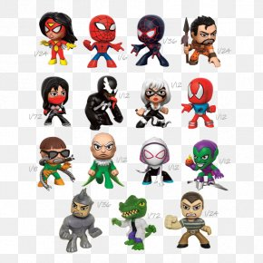 Spider-man - Spider-Man MINI Figurine Action & Toy Figures Character PNG