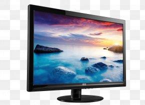 Monitor Image - Computer Monitor 1080p Digital Visual Interface VGA Connector LED-backlit LCD PNG