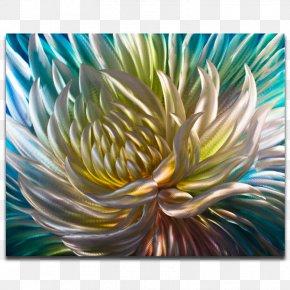 Anemone - Modern Art Painting Artwall Abstract Art PNG