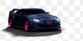 Car - Nissan GT-R Mid-size Car Motor Vehicle PNG