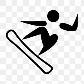 Pictogram - 2018 Winter Olympics Snowboarding At The 2018 Olympic Winter Games Paralympic Games 2014 Winter Olympics 2018 Winter Paralympics PNG