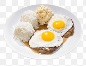 Shrimp Eggs - Fried Egg Loco Moco Cuisine Of Hawaii Barbecue Hamburger PNG
