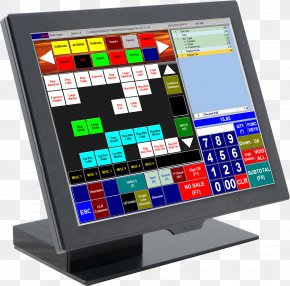 Computer Software Point Of Sale Computer Monitors Retail PNG