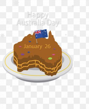 Australia Map Cake - Prehistory Of Australia Map PNG