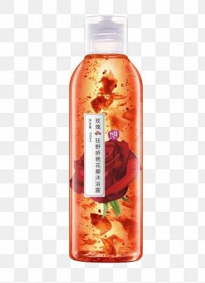Rose Shower Gel - Shower Gel Bathing Soap Perfume PNG