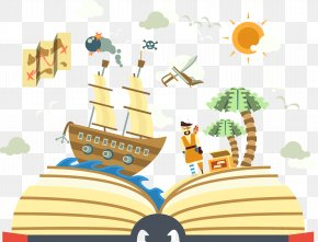 Pirate Storybook - History Storytelling Narracixf3n Author Text PNG