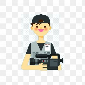 Junior Photographer - News Presenter Download Poster PNG