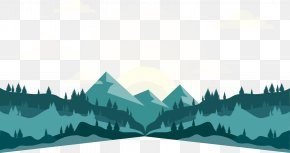 Pioneer Mountain - Landscape Euclidean Vector PNG