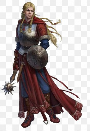 Fantasy Women Warrior Image - Pathfinder Roleplaying Game Dungeons & Dragons Character PNG