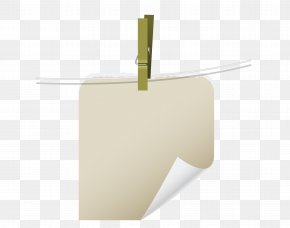 Light-colored Sticky Notes - Square Angle Yellow PNG