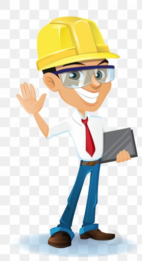 Vector Construction Engineer - Architectural Engineering Clip Art PNG