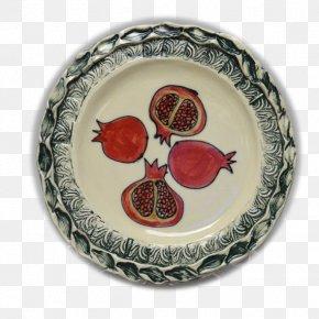 Pomegranate - Tableware Platter Ceramic Plate Porcelain PNG