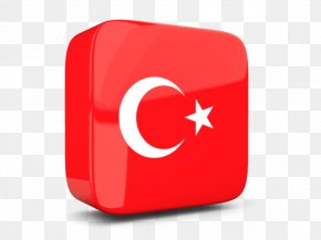 Turkey Flag Vector - Flag Of Turkey PNG