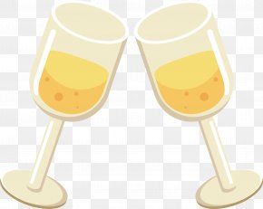 Champagne Glass - Soft Drink Wine Glass Beer Champagne PNG