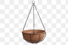 Light - Hanging Basket Pendant Light Gardening Flowerpot PNG