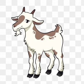 Vector Little Goat - Goat Sheep Clip Art PNG