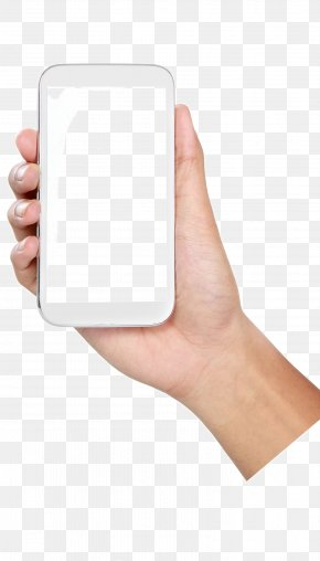 Holding A Cell Phone Gesture - Android Application Package Mobile App Download PNG