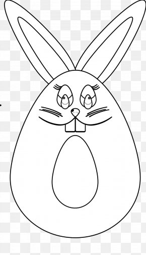 Black And White Bunny Pictures - Domestic Rabbit Easter Bunny Hare Whiskers Black And White PNG