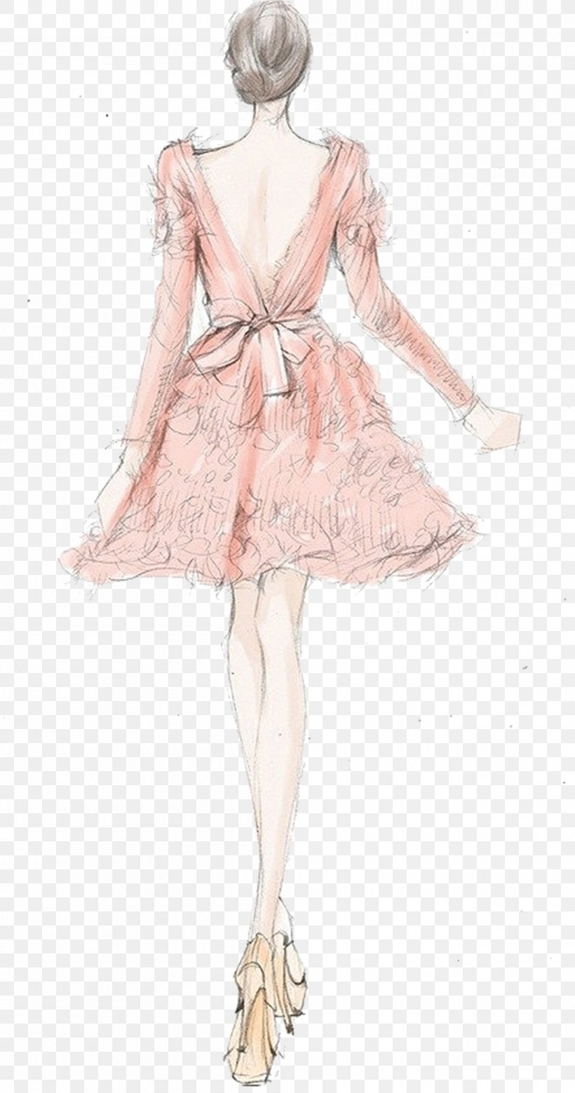 Drawing Fashion Illustration Fashion Design Sketch Png 1000x1902px Watercolor Cartoon Flower Frame Heart Download Free