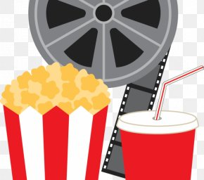 Popcorn - Art Film Reel Cinema Clip Art PNG