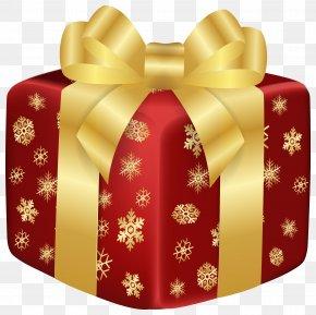 Christmas Red Gift Clip Art Image - Christmas Gift Christmas Gift 3D Computer Graphics Clip Art PNG