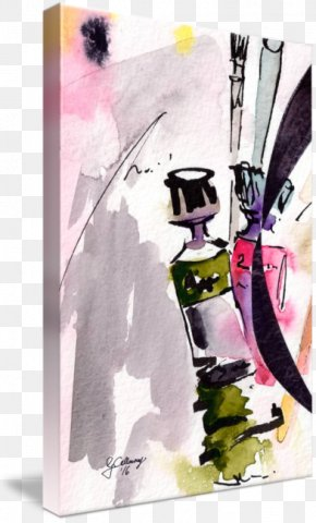 Watercolor Painting Ink - Watercolor Painting Drawing PNG