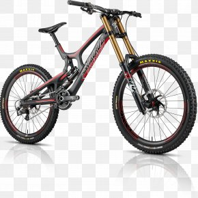 Bicycle, MTB DH Bike Image - Santa Cruz Bicycles Mountain Bike Downhill Bike PNG